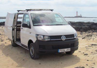 Volkswagen T6 Van Renting Fuerteventura - Fuerte Camper Van